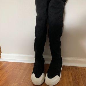 COPY - Wild Divas black over the knee boots 7.5